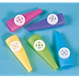 Fun Express - Educational Products - Plastic Kazoos (1-Pack of 72 Pieces)