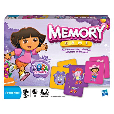 The Dora Board Explorer Game (Hasbro Dora The Explorer Edition Memory Game)
