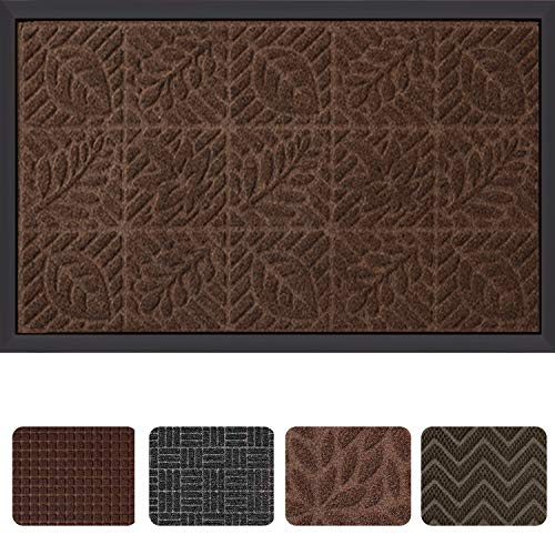 "Outside Shoe Mat Rubber Doormat for Front Door 18""x 30"" Outd"