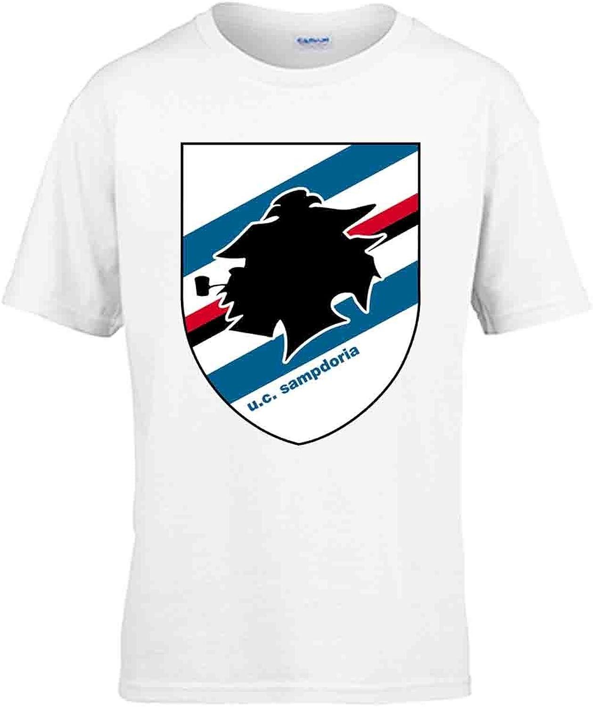 Capricci Italiani T-Shirt Bambina Sampdoria Manica Corta