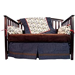 Caught Ya Lookin' Crib Bedding Set, Western Cowboy
