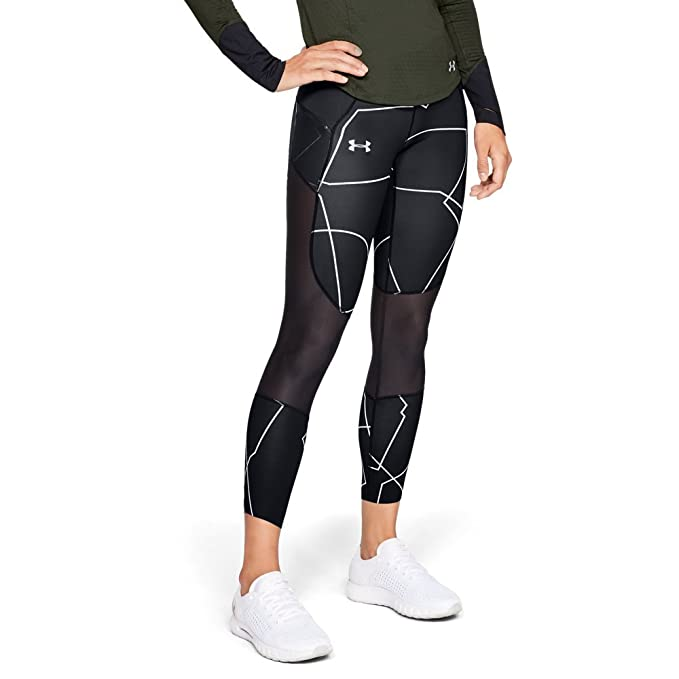 purchase authentic reliable quality Discover Under Armour Women's Speed Pocket Printed Run Crop Bottom