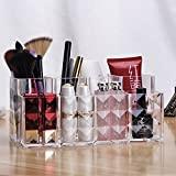Transparent Acrylic Makeup Storage Bucket Lipstick Eyebrow pencil Samples Cosmetics Desktop storage Box