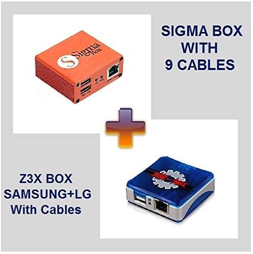 Z3X Box Samsung + LG & Sigma Box with cables, used for sale  Delivered anywhere in USA