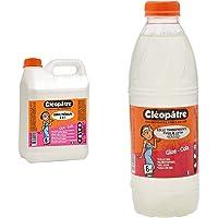 Cleopatre Vim2L Vinyl 'Medium Bidón De Cola, 2 L + CT1L Pegamento transparente especial para escuelas, 1 kg