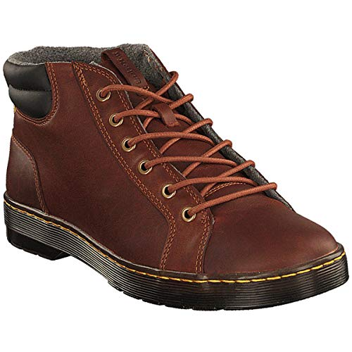 Dr.Martens Uomo Plaza Luxor Leather Stivali Tan