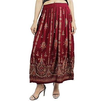 Suman Enterprises Belly Dance Skirt,Indian Long Partywear Skirt wd Sequin