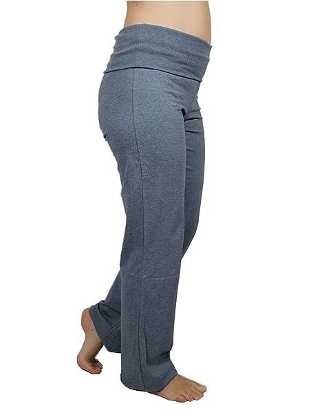 ALBERO Gots - Pantalones de Deporte para Mujer, algodón ...