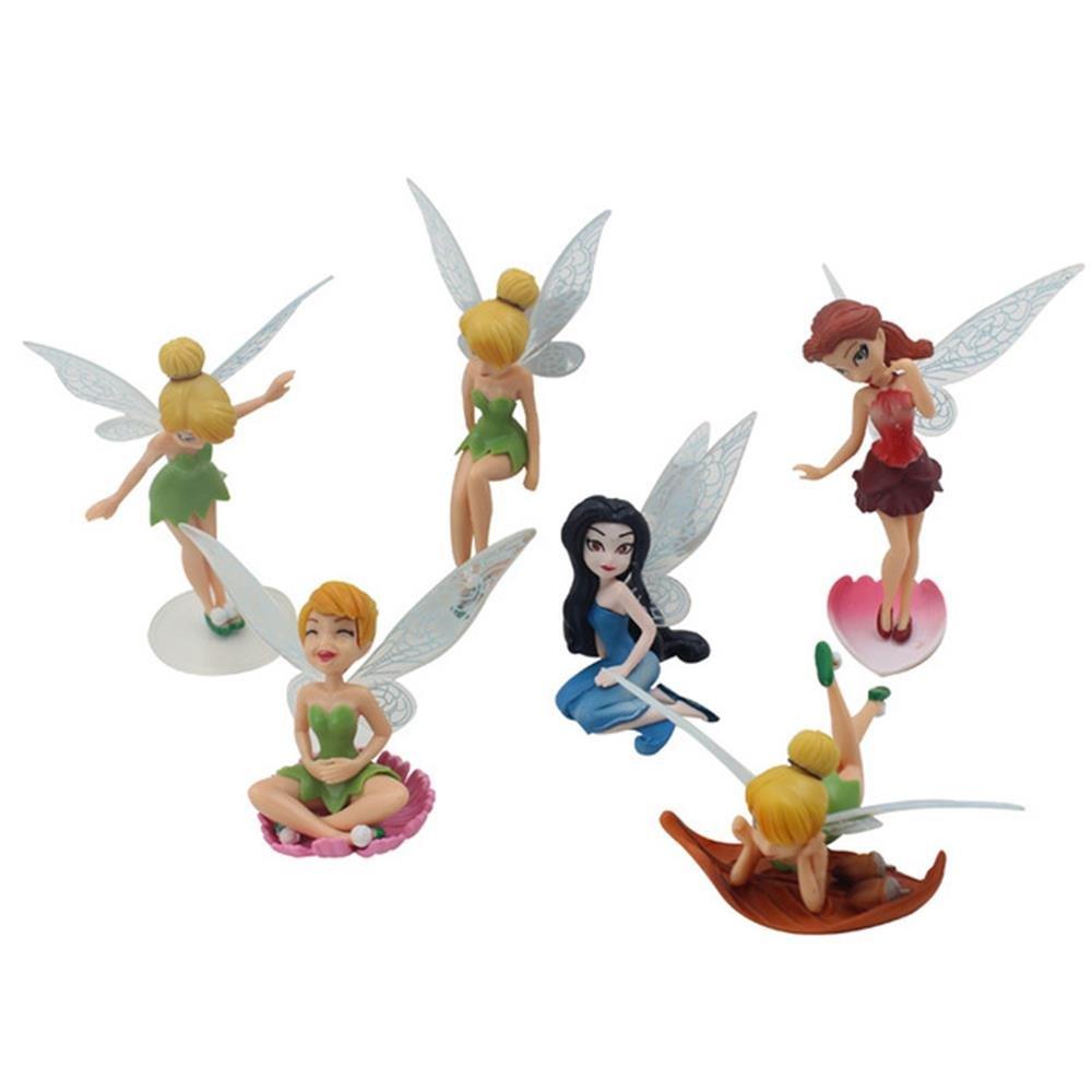 Yixuan Figurine Miniature Diff/érentes F/ées pour D/écorations de Jardin Pot de Fleurs Maison de Poup/ée Artisanat