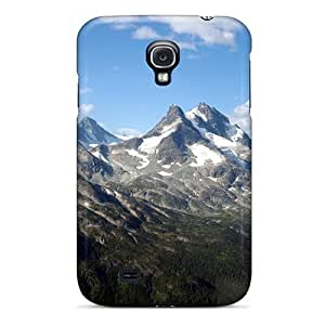 For Galaxy S4 Protector Case Clouds On Hill Phone Cover