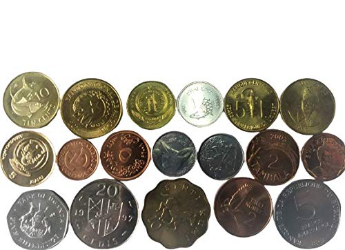 Novelty Collections-18 African Countries Coins (All UNC) (B086MYNDQC) Amazon Price History, Amazon Price Tracker