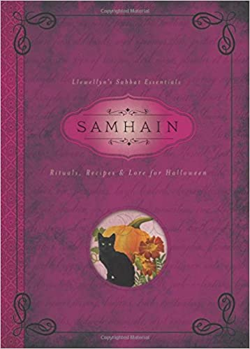 Samhain, Rituals, Recipes & Lore for Halloween book cover