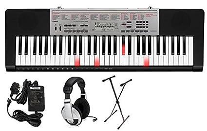 Casio LK190 61 Key Lighted Portable Keyboard Premium Package best electric keyboard