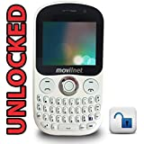 Sendtel Bliss Unlocked 3G GSM Cell Phone With Wifi - QWERTY Keyboard - Dual Cameras - Includes OEM Charger