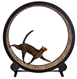One Fast Cat Exercise Wheel - Leopard Print