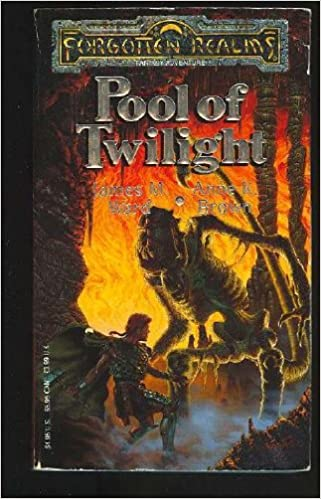 Pool of Twilight (Forgotten Realms, Book No 3): James M  Ward, Anne