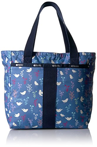 lesportsac-essential-small-everyday-tote-song-birds-blue