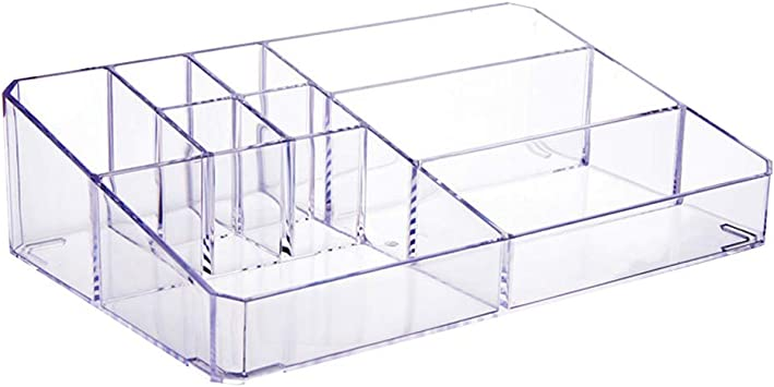 Organizador De Almacenamiento De Cosméticos Caja De Organizador De Maquillaje De Plástico Caja De Almacenamiento De Plástico Cosmético Escritorio Baño Estuche De Almacenamiento (L): Amazon.es: Bricolaje y herramientas