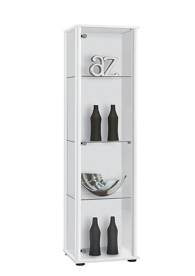 2 opinioni per AVANTI TRENDSTORE- Bora- Vetrina con 3 ripiani in vetro, corpo in legno