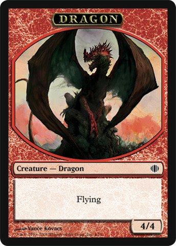 Magic: the Gathering - Dragon Token - Shards of Alara