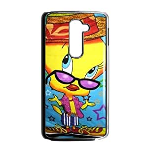 Tweety Bird LG G2 Cell Phone Case Black TPU Phone Case SV_038744