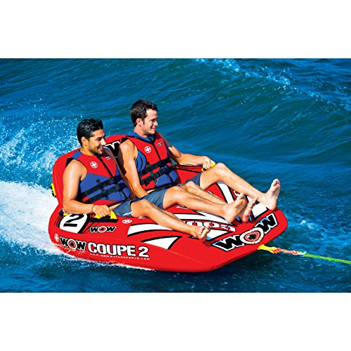 WoW World of Watersports 15-1030 Coupe Cockpit Towable, Inflatable, 1 or 2 Person