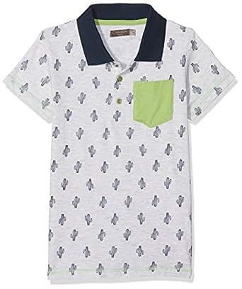 Canada House Cactus, Camiseta para Niños, Gris, 104 (Tamaño del Fabricante:4A/Y)
