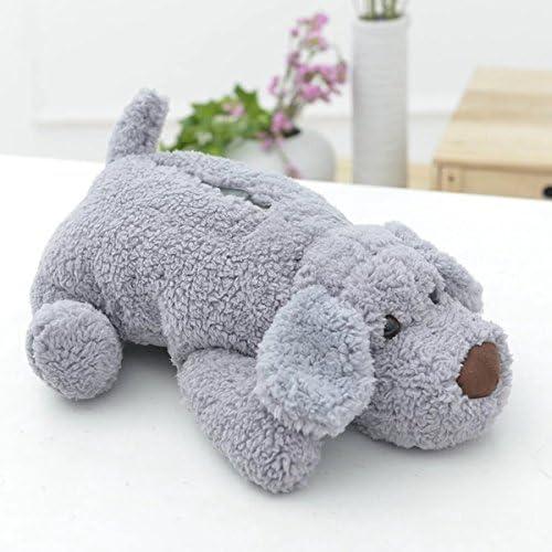 (Yland Select) もこもこ ふわふわ 動物 ティッシュ カバー ケース ボックス かわいい ぬいぐるみ 犬 わんちゃ