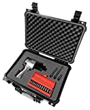 CASEMATIX Waterproof Heavy Duty Pneumatic Auto Air Tool Impact Wrench Case Bag Boot – To Carry and Protect Ingersoll Rand , Aircat 1150 , Craftsman , Nitrocat 1200 , Astro 1/2'' Air Impact Drivers