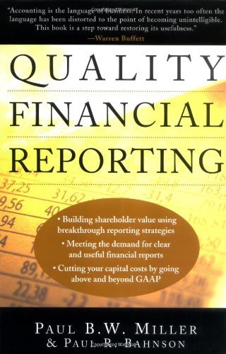 Download Quality Financial Reporting Pdf