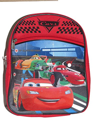 (Disney Cars Red 10 inch Mini Backpack AO4011)