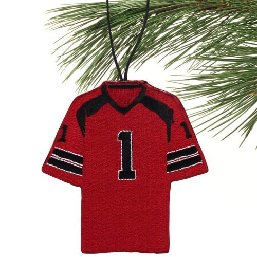 NCAA South Carolina Fighting Gamecocks 2-Sided Jersey Ornament (Replica South Jersey Carolina Gamecocks Football)