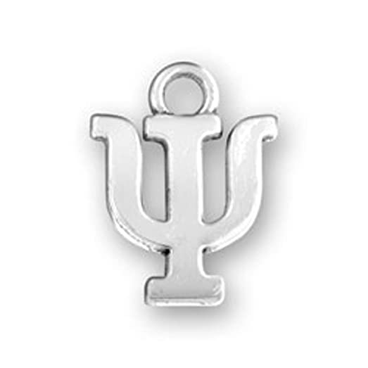 Amazon Sterling Silver Greek Alphabet Sorority Psi Charm Jewelry