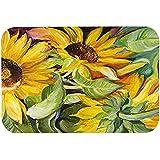 "Caroline's Treasures JMK1122CMT ""Sunflowers"" Kitchen or Bath Mat, 20"" by 30"", Multicolor"