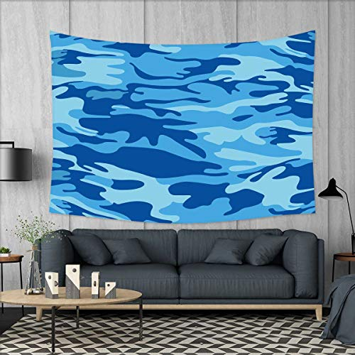 smallbeefly Camouflage Wall Tapestry Abstract Camouflage Costume Concealment from The Enemy Hiding Pattern Home Decorations for Living Room Bedroom 80