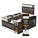 Primal Kitchen - Dark Chocolate Almond Collagen Protein Bars, 12 Grams of Protein, Paleo Approved (Pack of 12, 1.7 oz)
