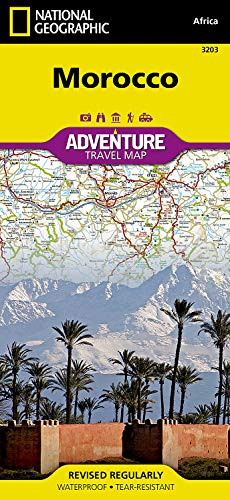 Adventure Paper Map National Geographic (Morocco (National Geographic Adventure Map))
