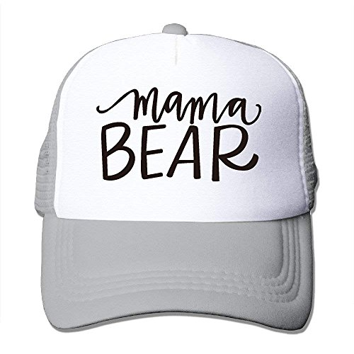 X8 FIRE Hats Mama Bear Polyester Women Adjustable Snapback Mesh Back Cap Ball Cap Halloween