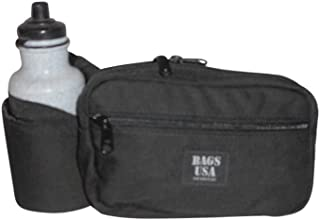 product image for BAGS USA Fanny Pack H2O Single Deluxe Dupont Cordura,Holds One 22oz Bottle,Great for Running/Hiking/Cycling/Camping.