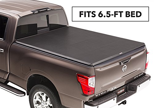 Truxedo TruXport Roll-up Truck Bed Cover 288901 16-17 Nissan Titan with Track System 6'6″ Bed