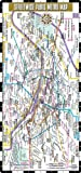 Streetwise Paris Metro Map - Laminated Paris Metro Map - Folding pocket & wallet size metro map for travel