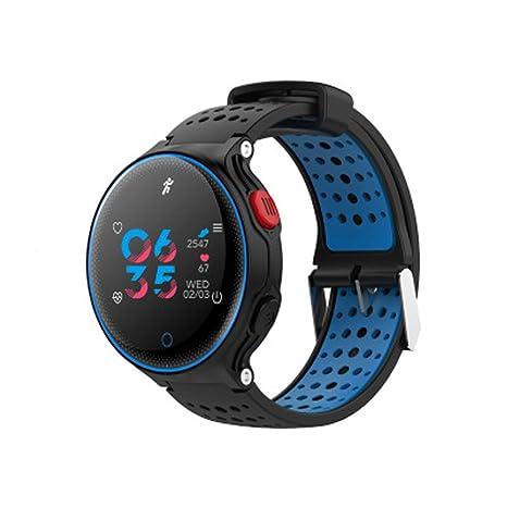 QYQ Reloj Inteligente para iOS y Android Smartphone Bluetooth Impermeable rastreador de Ejercicios Pulsera Inteligente recordatorio