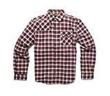Howler Brothers Harker's Flannel Shirt - Alturas Plaid : Red - M