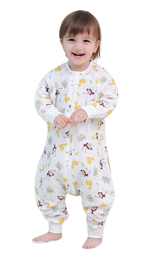 Baby Schlafsack elefante Animales Verano Primavera neugeboren PYJAMAS algodón Overalls.Pelele de 1 tog Color