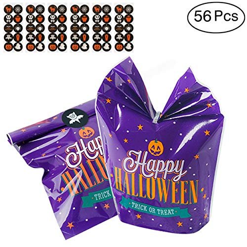 Hip Mall Halloween Goody Bags Colorful Trick or