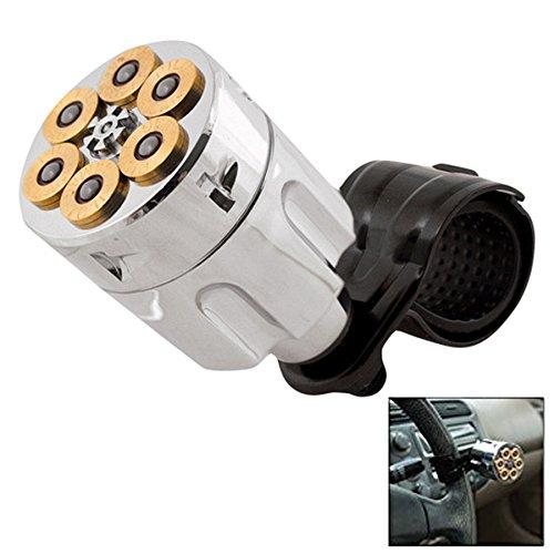 44 Mag. Steering Wheel Resolver Knob Secret Hidden Compartment Suicide Spinner Knob