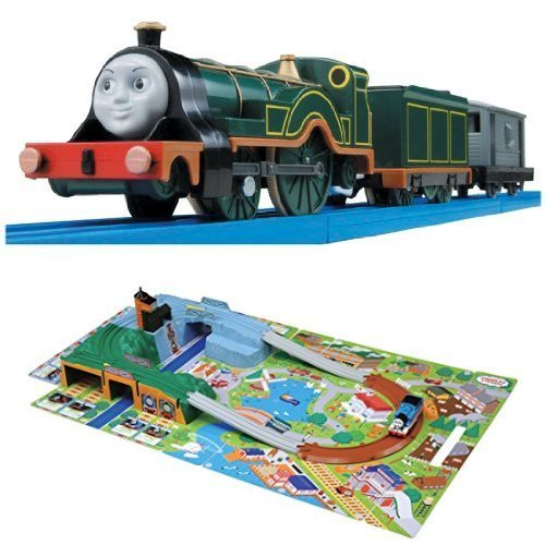 Plarail Thomas TS-13 Emily outing three-dimensional map set