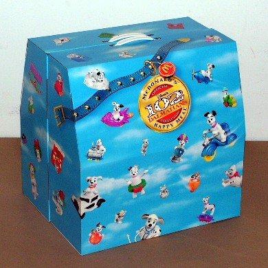 Disney's McDonalds Happy Meal Box Set ~ 102 Dalmatians