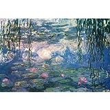 (24x36) Claude Monet (Nympheas) Fine Art Print Poster by Huntington Graphics
