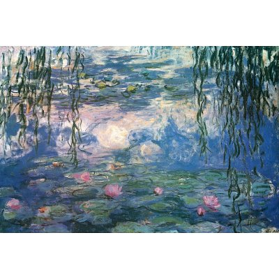 (24x36) Claude Monet (Nympheas) Fine Art Print Poster by Huntington Graphics